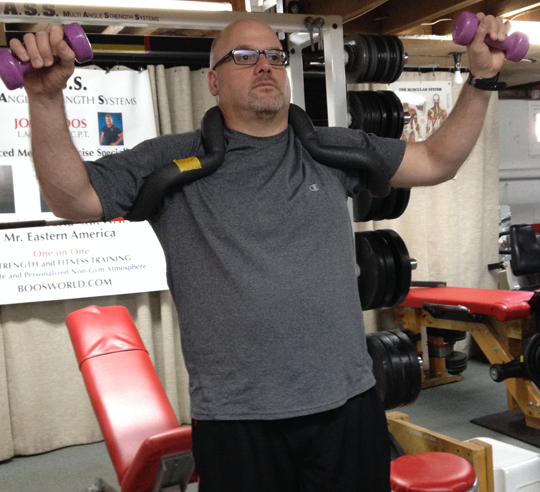 Post Rehab Exercise uses specialized equipment at Boos World with John Boos