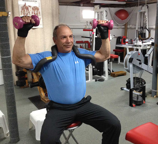 Men's strength training and senior fitness at Boos World